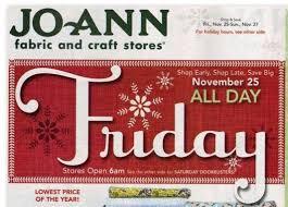 joann black friday jo ann fabrics black friday ad and deals 2011