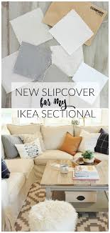 ikea slipcovers new slipcover for my ikea sectional giveaway
