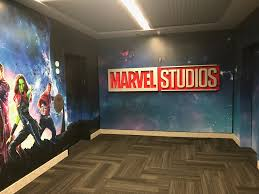 a tour of the marvel studios offices