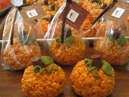 pumpkin rice krispie treats 24 7