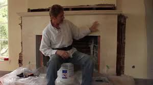 plaster repairs on an interior fireplace youtube