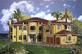 mediterranean home style luxury home with 6 bdrms 6714 sq ft house plan 107 1037