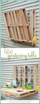 view in gallery diy pallet gardening table
