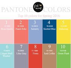 pantone spring summer 2017 pantone wedding colors 2016 top 10 pantone for spring 2016