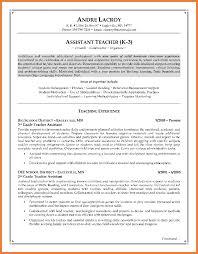 Resume Sle Objectives Sop Proposal - teacher assistant resume sop proposal
