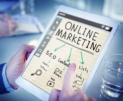 Gambar tangan jaringan Internet bisnis situs web merek on
