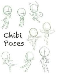 chibi chibi pose dump by concretedreams on deviantart