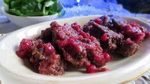 cuisiner les airelles magret de canard farci sauce aux airelles recette par je cuisine