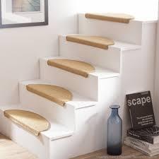cadre paillasson interieur tapis d escalier en sisal demi lune lot de 5 essential