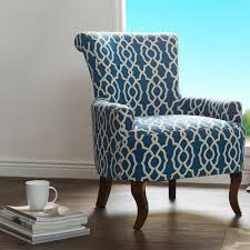 Aqua Accent Chair by Home Decorators Collection Moore Pebble Grey Wing Back Accent