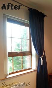 Two Curtains In One Window Sandra U0027s Ark What Not To Do With My Sarong Housework Funwork 50