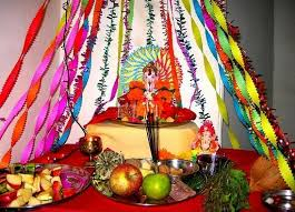 how to decorate a temple at home ganesh chaturthi decoration ideas for home mandap