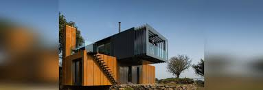 grillagh water house by patrick bradley is made up of four stacked