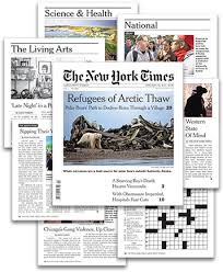 the new york times has the new york times large print