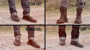buckle how to cuff your jeans youtube