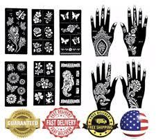 henna stencils tattoos u0026 body art ebay
