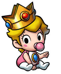 baby princess peach mario luigi wiki fandom powered wikia