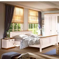 Schlafzimmer Pinie Komplettes Schlafzimmer Weiss 4 Teilig Komplett Holz Kiefer Neapel