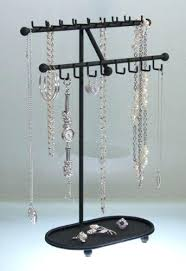 necklace organizer display images Necklace holder stand drivedetailing co jpg