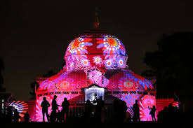 Part Of Flowers - light show to wash park conservatory in psychedelia sfgate