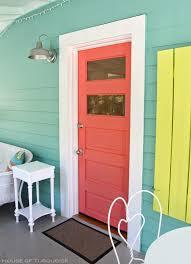 exterior paint color hummingbird blue by glidden door paint color