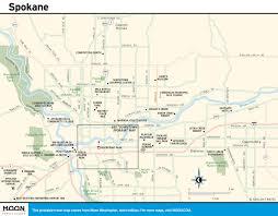 Spokane Map The Great Northern Route Us 2 Across Washington Road Trip Usa