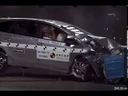 toyota prius v safety rating ancap toyota prius v 2012 onwards frontal offset crash test