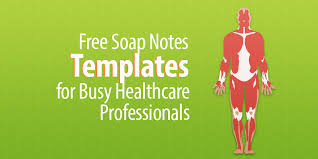 soap notes templates png