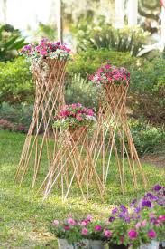 tall planters willow cone planters gardeners com