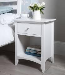 bedroom mesmerizing distressed white bedside table with
