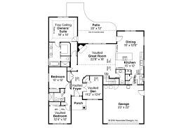 Florida Floor Plans Country House Plans Barrington 31 058 Associated Designs