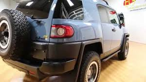 2014 toyota fj cruiser trail teams edition for sale heritage blue