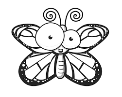 butterfly coloring book pages free coloring pages art