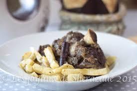 recette de cuisine viande lham mhamer cuisine algérienne
