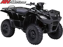 suzuki announces another wave of new 2011 king quad atv models