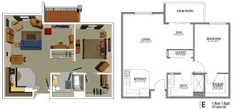 2 bedroom 1 bath floor plans senior living floor plans crestview senior living