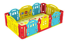 amazon com dwinguler castle kids playpen rainbow baby