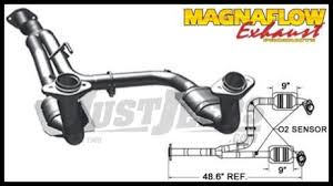 2002 jeep liberty exhaust jeep parts buy magnaflow direct fit catalytic converter for 2005