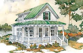 Coastal Cottage Plans by Hunting Island Cottage Southern Living House Plans Small