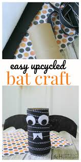 simple and spooky halloween bat craft for kids the homespun