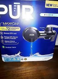 Pur Horizontal Faucet Mount Pur Faucet Mount Filters Pfm100b Black Horizontal Faucet Mount