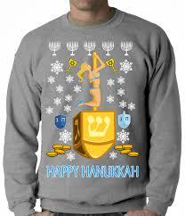 happy hanukkah sweater hanukkah christmas sweaters wlrtradio
