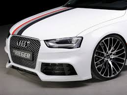 audi a4 b8 grill upgrade rieger kit rs4 look front bumper audi a4 s4 b8 5