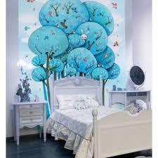 fresque chambre fille sticker fresque emmanuelle colin dans les arbres