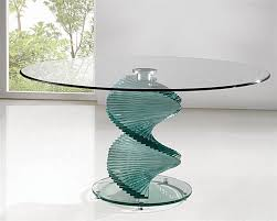 Sleek Glass Dining Tables - Glass table designs