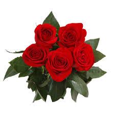 www flowers send bunch of 5 roses to nikolaev ukraine