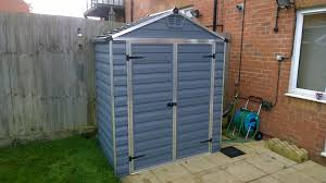 installation and assembly of garden sheds in southend