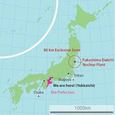 Fukushima Fallout Map by Nuclear Radiation And Me Separating Rumor From Reality The Jws