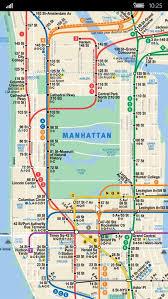 map of ny subway get transit nyc microsoft store