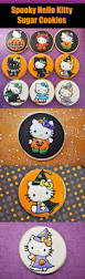 Decorated Halloween Sugar Cookies by 16 Hello Kitty Cookies For Halloween U2013 Top Easy Design For Party